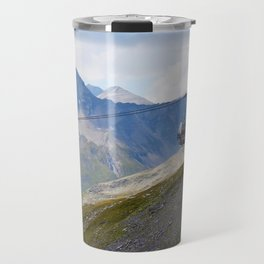 Austria ski lifts Travel Mug