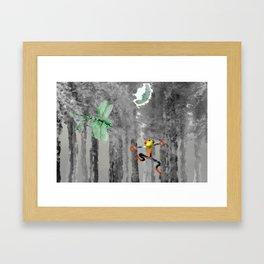 Forest of Giants Framed Art Print