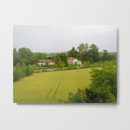Villa View Metal Print