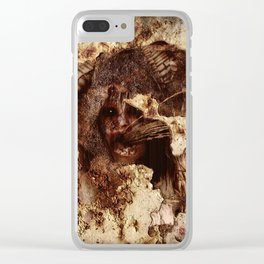 Trapped Within Clear iPhone Case
