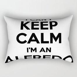 I cant keep calm I am an ALFREDO Rectangular Pillow