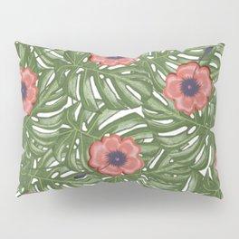 Tropical flowers Pillow Sham