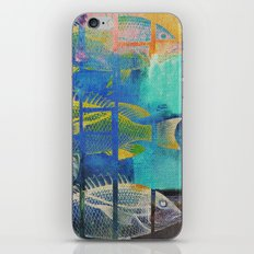 Fish Under Strong Radiation 4 iPhone & iPod Skin