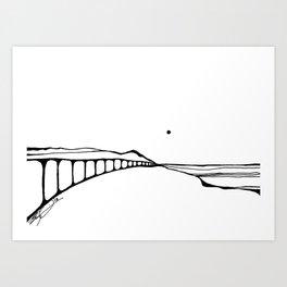 Landscape 110313 Art Print