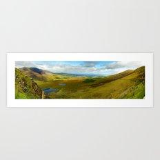 Conner Pass Panorama Art Print