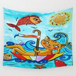 Voyage en parapluie Wall Tapestry