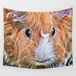 Painted Guinea Pig 5 Wall Tapestry