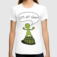sassy T-shirts featuring Sassy Turtle by Lazy Designs