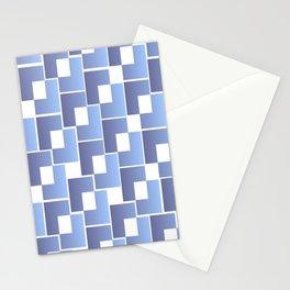 Blue Interlace Stationery Cards