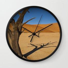 Sossusvlei Dead Pan Wall Clock
