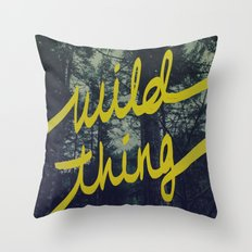 Wild Thing Throw Pillow