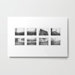 NW Industrial Metal Print