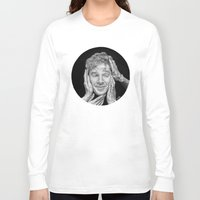 benedict cumberbatch Long Sleeve T-shirts featuring Benedict Cumberbatch  by Cécile Pellerin