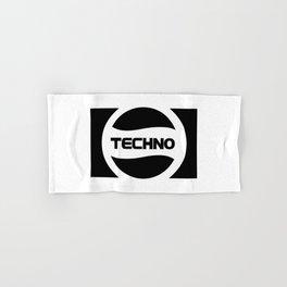 Techno Soda Parody Logo Hand & Bath Towel