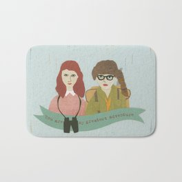 Suzy and Sam Together Bath Mat