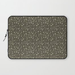 Omnic - Cream and Grey Laptop Sleeve