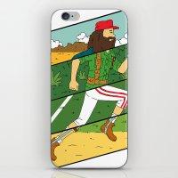 run iPhone & iPod Skins featuring Run by Derek Eads