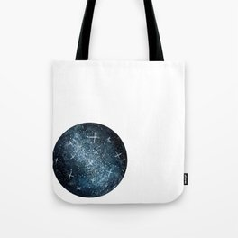Blue Galaxy Tote Bag