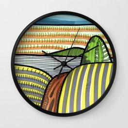 Marker Landscape from Piliscsev Wall Clock