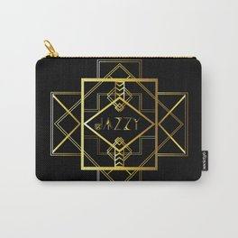 Jazzy Letterform and Pattern Carry-All Pouch