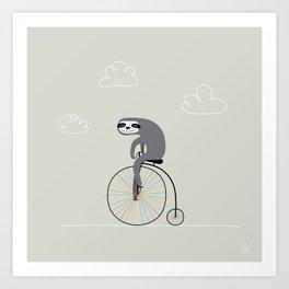 The Happy Ride Art Print