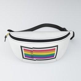 LGBT PRIDE FLAG 8BIT Fanny Pack