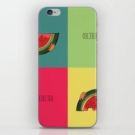 Summer Detected Watermelon iPhone Skin