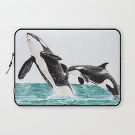 Keiko and Morgan Laptop Sleeve