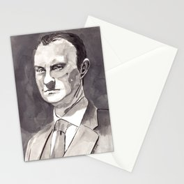 Mark Gatiss as Mycroft Holmes Stationery Cards