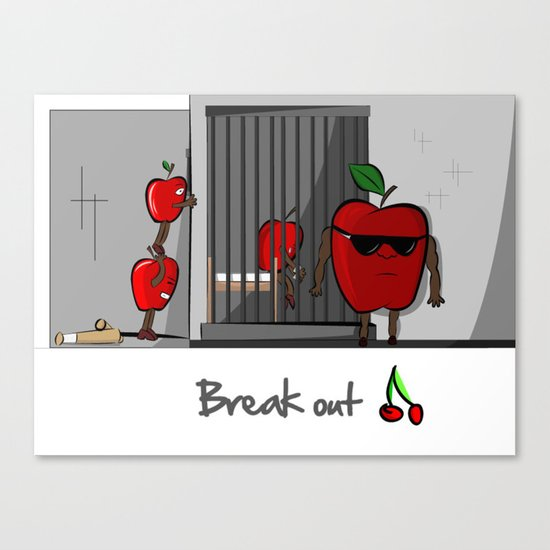 Break Out Canvas Print