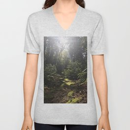 Afternoon Stroll Unisex V-Neck