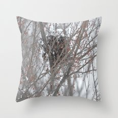 Home amoung the berries  Throw Pillow