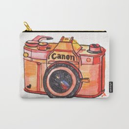 retro camera phone case Carry-All Pouch