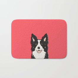 Montana - Border Collie gifts for dog people and dog lovers perfect gifts for a dog person.  Bath Mat