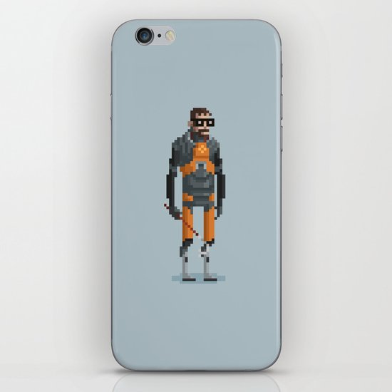 Man With a Crowbar iPhone & iPod Skin