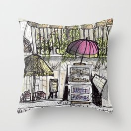 City Landscapes - Piazza Navona - Rome - Italy Throw Pillow