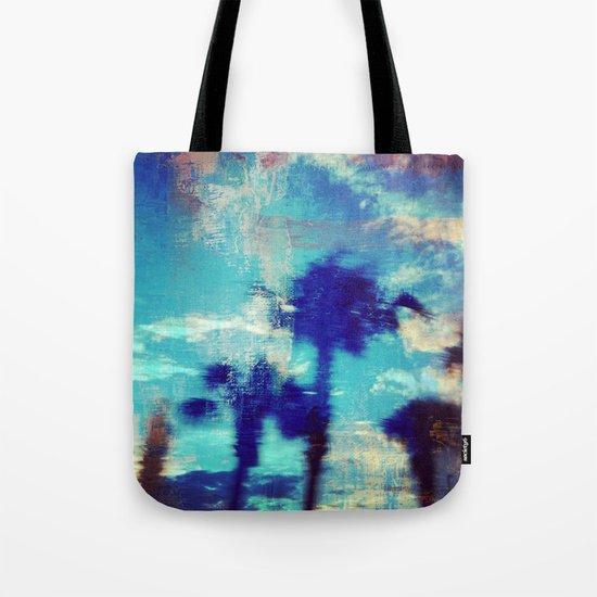 Underwater Palms Tote Bag