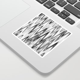 WAVY #1 (Grays & White) Sticker