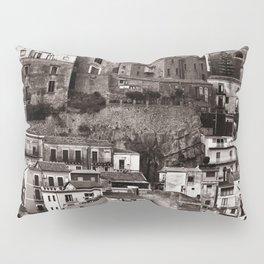 "Urban Landscape of Sicily ""VACANCY"" zine Pillow Sham"