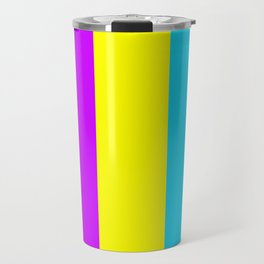 Neon Mix #3 Travel Mug