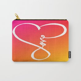 You are the Rainbow of my Heart Carry-All Pouch