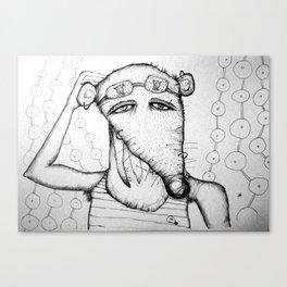 TOPO 6 Canvas Print