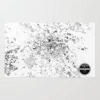 dublin Area & Throw Rugs featuring DUBLIN by Maps Factory