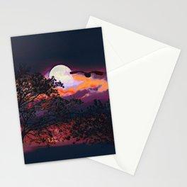 Full Moon I Stationery Cards