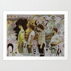 boy mandeville Art Print