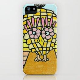 Weird Animals 8: Pinecone Owl 5 iPhone Case