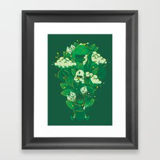 Miracle of life Framed Art Print