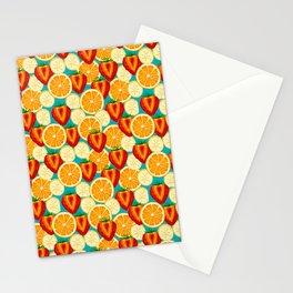 Fruit explosion by Keyton Design Stationery Cards