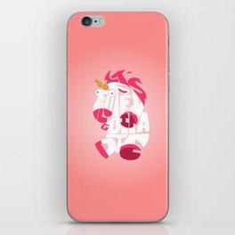 It's so fluffy - minion iPhone Skin