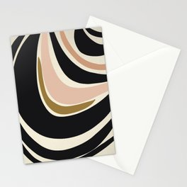Many Moons - Abstract Art Print Stationery Cards